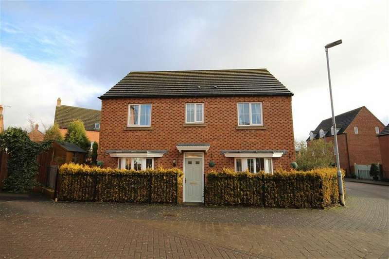 4 Bedrooms Detached House for sale in Murphy Drive, Coalville, Leicestershire, LE67