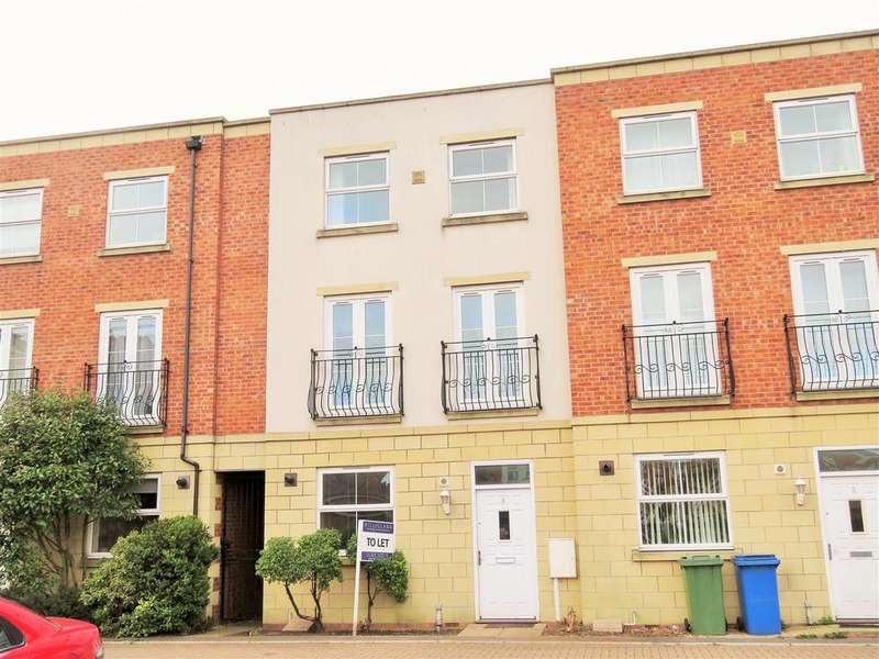 4 Bedrooms Terraced House for sale in Holbeach Terrace, Boston