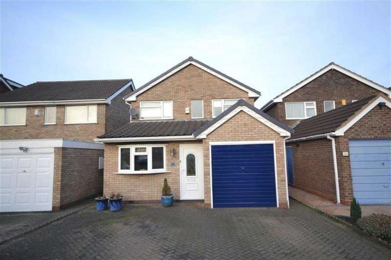 3 Bedrooms Detached House for sale in Oberon Close, Whitestone, Nuneaton