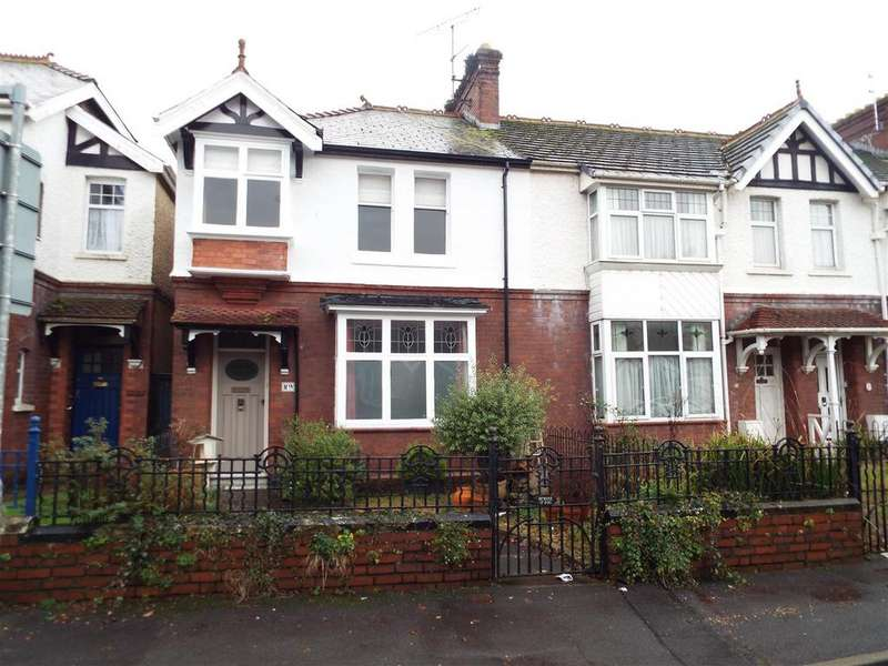 3 Bedrooms End Of Terrace House for sale in Coleshill Terrace, Llanelli