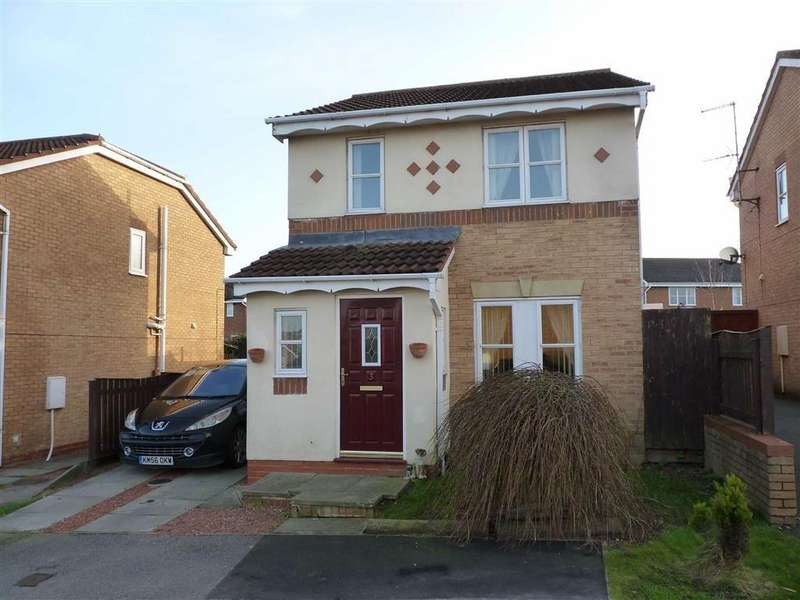 3 Bedrooms Detached House for sale in Kipling Drive, Brough With St Giles, North Yorkshire