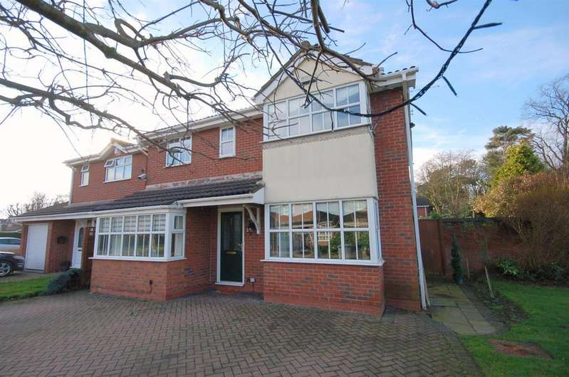 4 Bedrooms Detached House for sale in Hellyar-Brook Road, Alsager