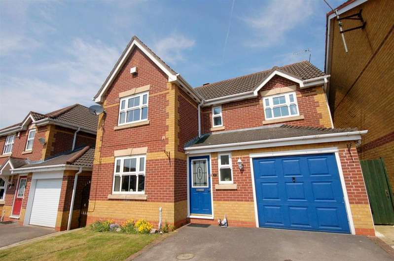 4 Bedrooms Detached House for sale in Merlin Way, Kidsgrove