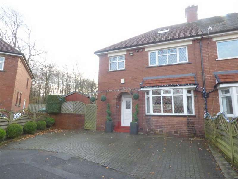 3 Bedrooms Semi Detached House for sale in Lynmouth Avenue, Royton, Oldham, OL2