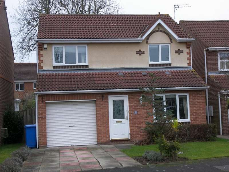 3 Bedrooms Detached House for sale in Crookham Grove, Morpeth