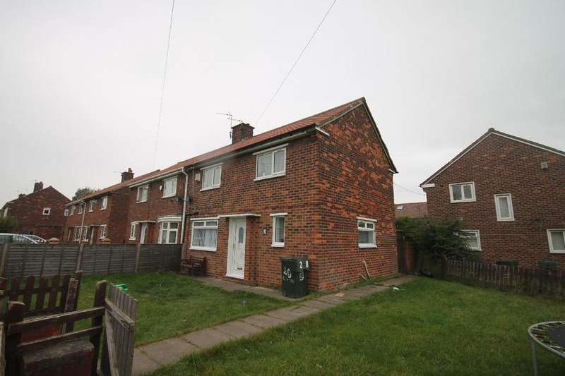 3 Bedrooms Semi Detached House for sale in Netherby Green, Parkend