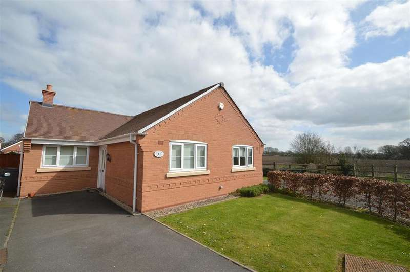 3 Bedrooms Detached Bungalow for sale in 81 Millbrook Drive, Shawbury, Shrewsbury, SY4 4PQ