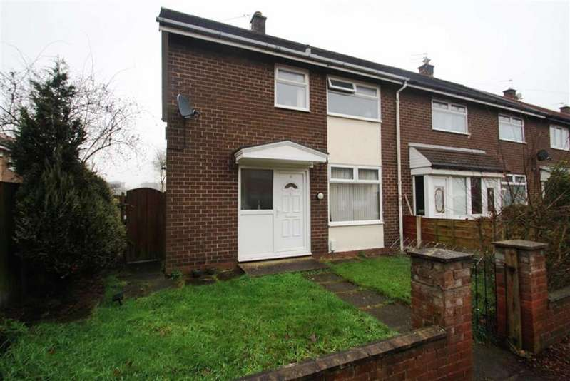 2 Bedrooms End Of Terrace House for sale in Elworth Way, Handforth