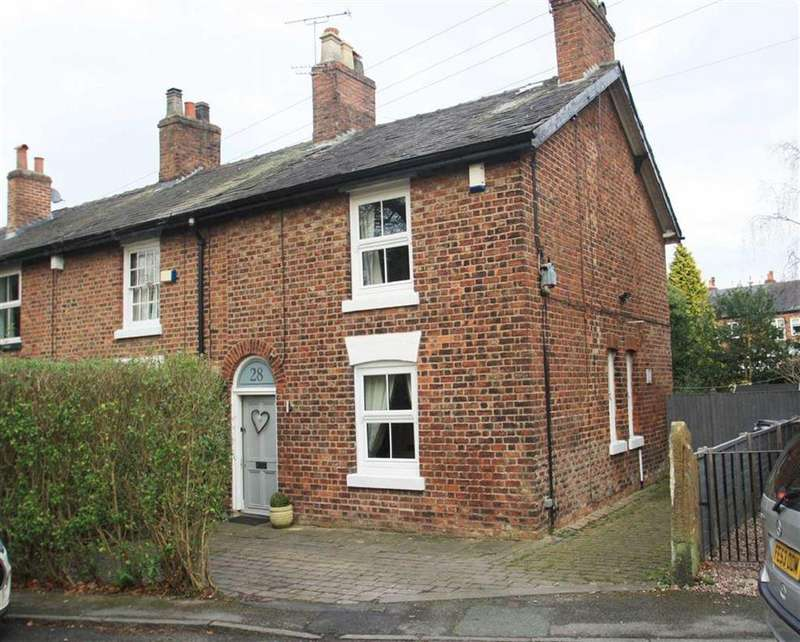2 Bedrooms End Of Terrace House for sale in Church Road, Handforth