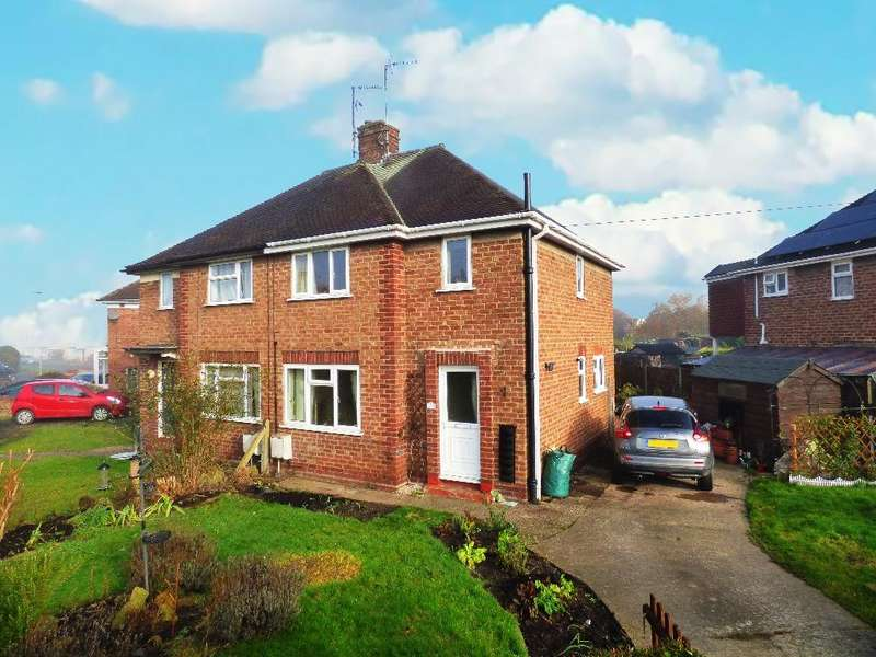 3 Bedrooms Semi Detached House for sale in Willow Grove, Hinton, Hereford