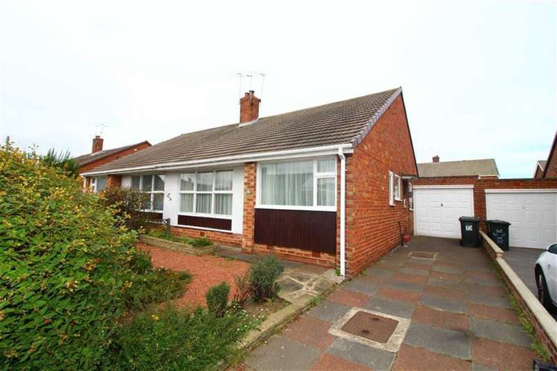 2 Bedrooms Semi Detached Bungalow for sale in Kirkstone Avenue, North Shields