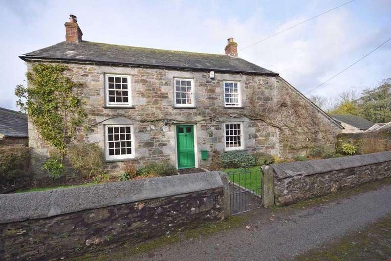 4 Bedrooms Detached House for sale in Trevenning, Nr. St Tudy, Cornwall, PL30