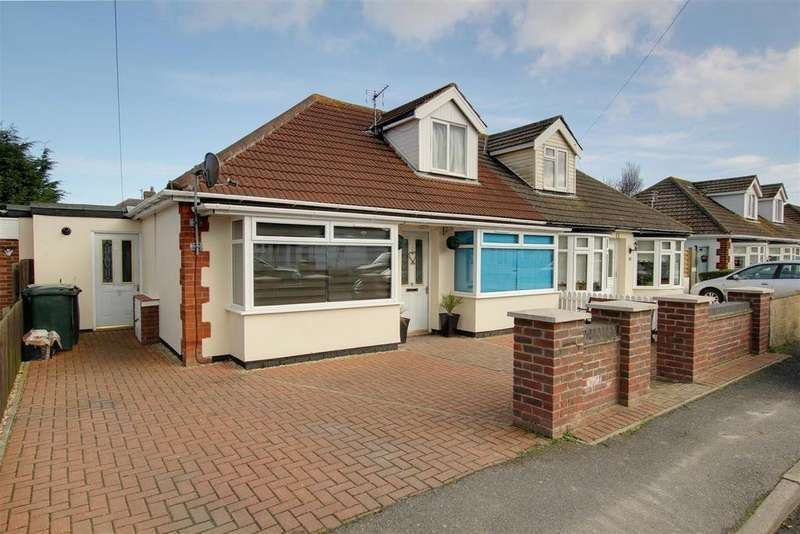 3 Bedrooms Semi Detached Bungalow for sale in 18 Long Acre, Mablethorpe