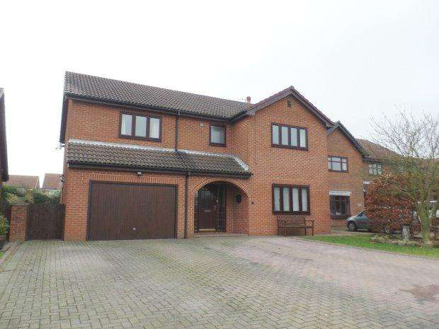 4 Bedrooms Detached House for sale in CHERRY DRIVE, HASWELL, PETERLEE AREA VILLAGES