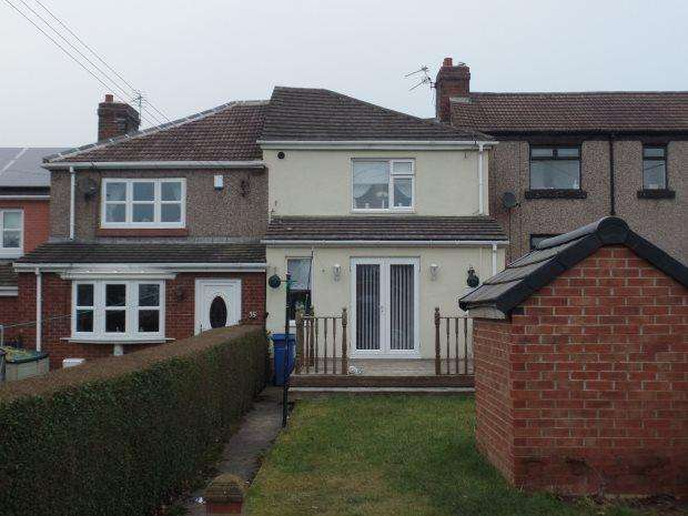 3 Bedrooms Terraced House for sale in SOUTH VIEW, WHEATLEY HILL, PETERLEE AREA VILLAGES