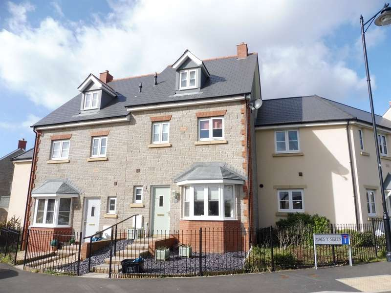 4 Bedrooms Terraced House for sale in Ffordd Y Draen, Coity, Bridgend