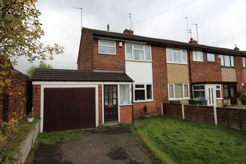 3 Bedrooms Semi Detached House for sale in Heath Close, Tipton, DY4