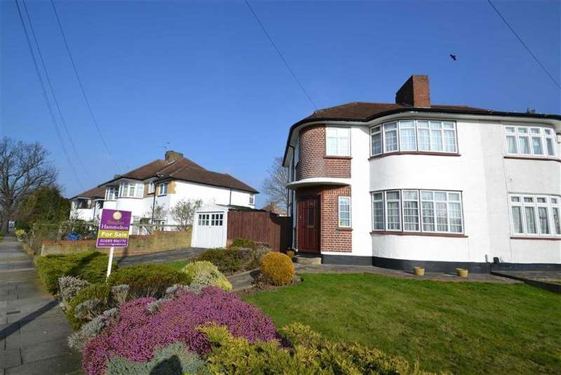 3 Bedrooms Semi Detached House for sale in Beaumont Road, Petts Wood, Kent