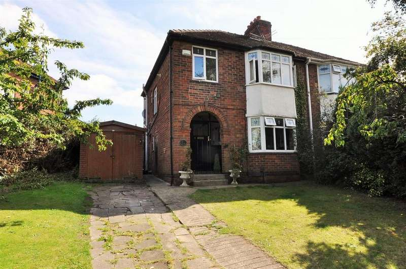 3 Bedrooms Semi Detached House for sale in Danebury Drive, Acomb Green, York
