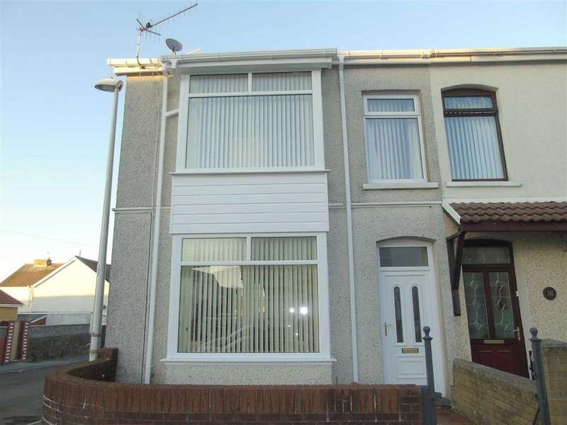 3 Bedrooms End Of Terrace House for sale in Cedric Street, Llanelli