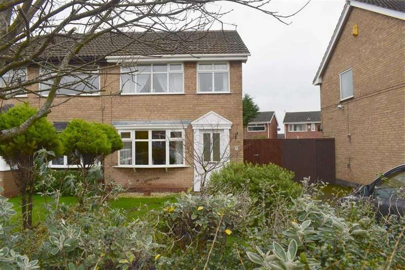 3 Bedrooms Semi Detached House for sale in Belford Drive, CH46