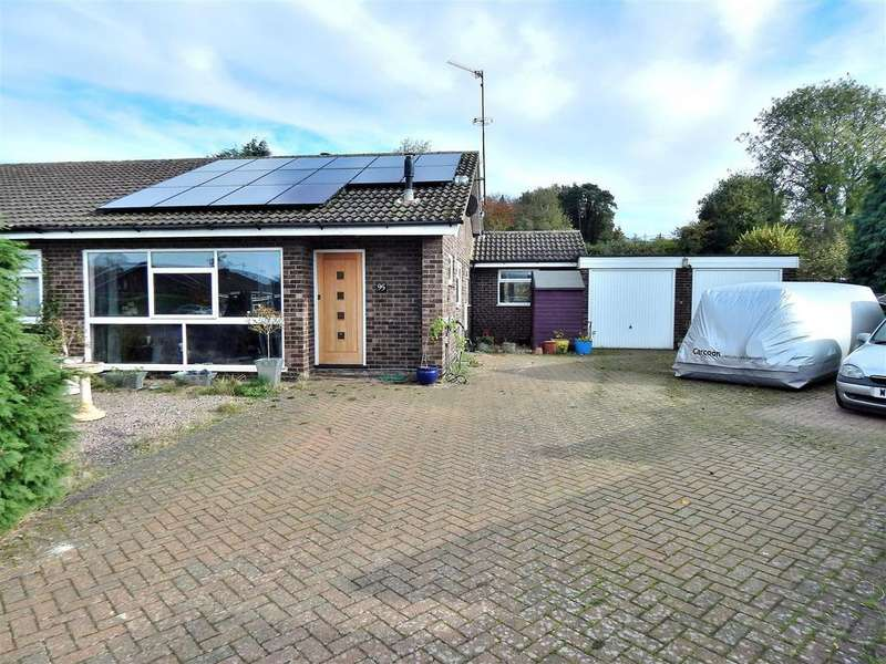 3 Bedrooms Semi Detached Bungalow for sale in Grovelands, Ingoldisthorpe, King's Lynn