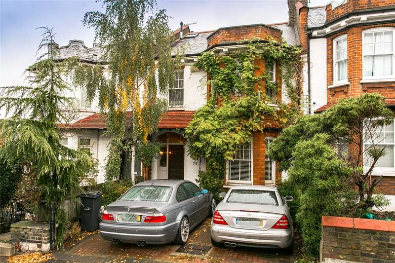 4 Bedrooms Terraced House for sale in Herne Hill Road, London, SE24