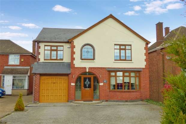 4 Bedrooms Detached House for sale in Coventry Road, Bulkington, Warwickshire
