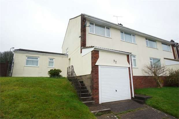 4 Bedrooms Semi Detached House for sale in Snowdon Close, Risca, NEWPORT, Caerphilly