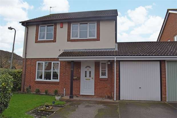4 Bedrooms Detached House for sale in Sharp Close, Aylesbury, Buckinghamshire
