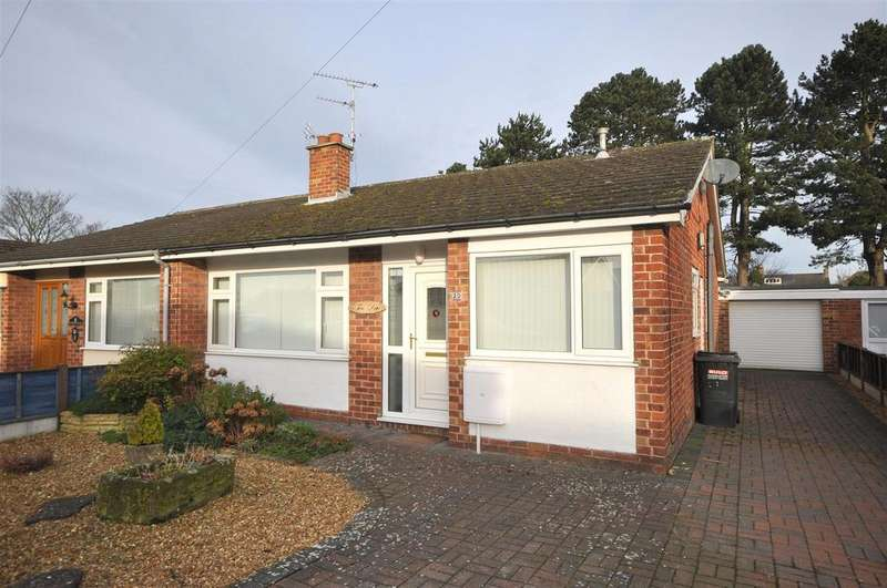 2 Bedrooms Semi Detached Bungalow for sale in Green Lane East, Sowerby, Thirsk