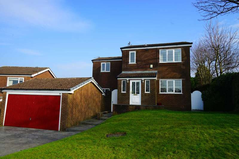 4 Bedrooms Detached House for sale in Kilworth Drive, Lostock