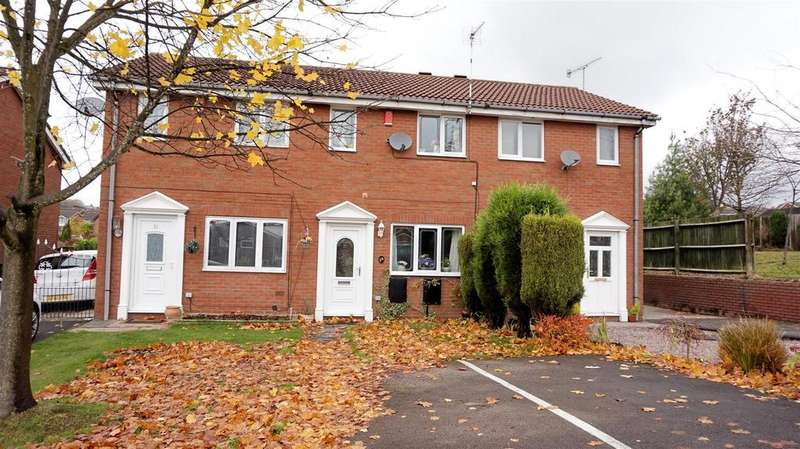 2 Bedrooms Town House for sale in Summerhill Drive, Waterhayes, Newcastle