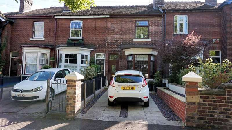 3 Bedrooms Terraced House for sale in Bradwell Lane, Bradwell, Newcastle, Staffs