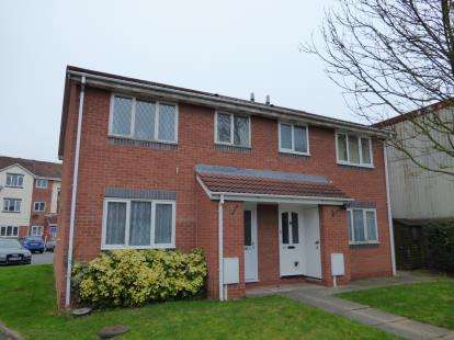 1 Bedroom Maisonette Flat for sale in The Carousels, Burton-On-Trent, Staffordshire