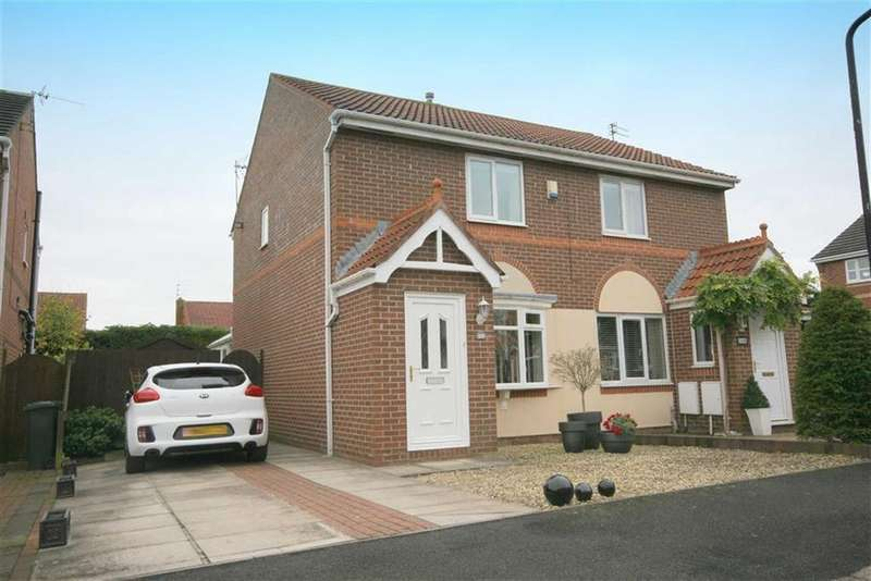 2 Bedrooms Semi Detached House for sale in Abbots Way, North Shields, Tyne Wear, NE29