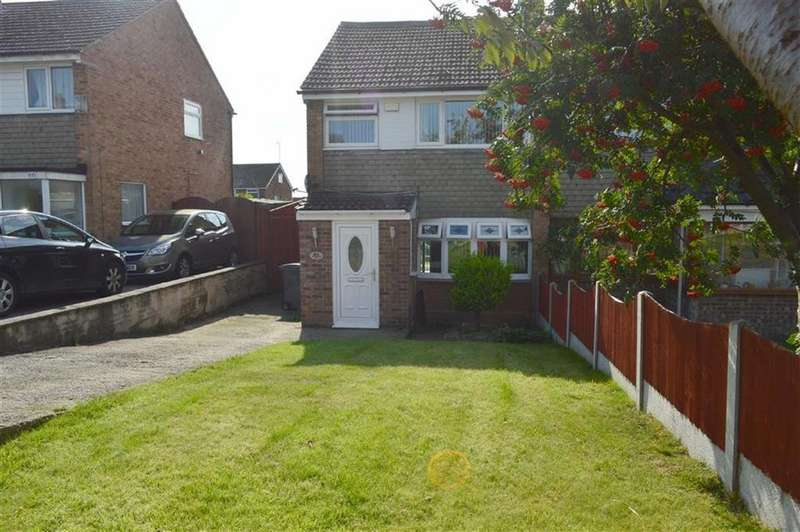 3 Bedrooms Semi Detached House for sale in Davenham Avenue, Oxton, CH43