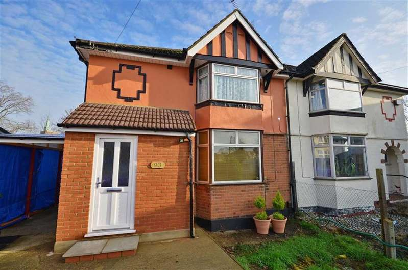 3 Bedrooms Semi Detached House for sale in Bushey Mill Crescent, Watford, Hertfordshire