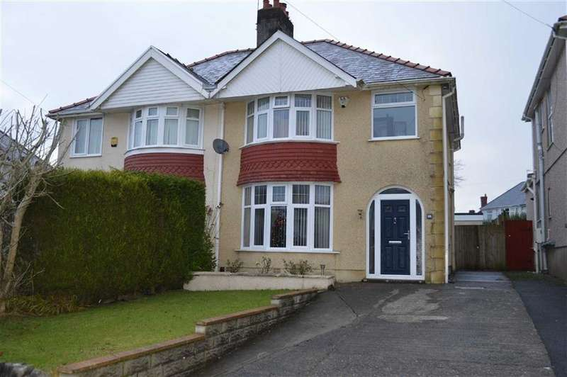 3 Bedrooms Semi Detached House for sale in Lon Pen Y Coed, Swansea, SA2