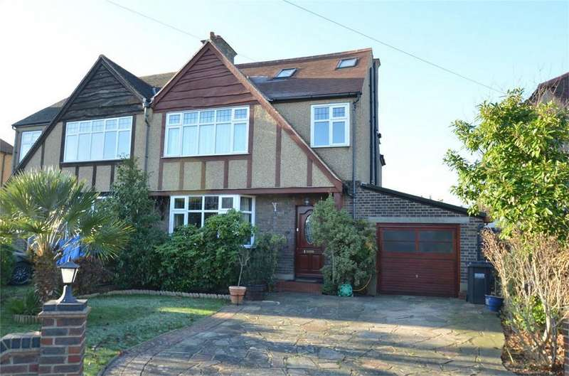 5 Bedrooms Semi Detached House for sale in Greencourt Gardens, Shirley Park, Croydon