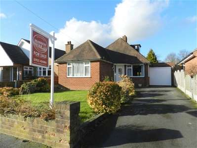 2 Bedrooms Detached Bungalow for sale in Baytree Close, Bloxwich, Walsall
