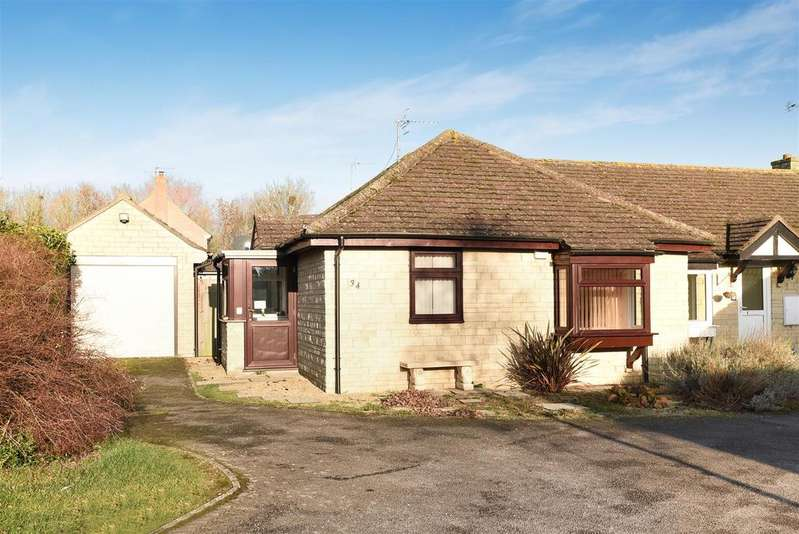 2 Bedrooms Semi Detached Bungalow for sale in Bury Mead, Stanton Harcourt, Witney