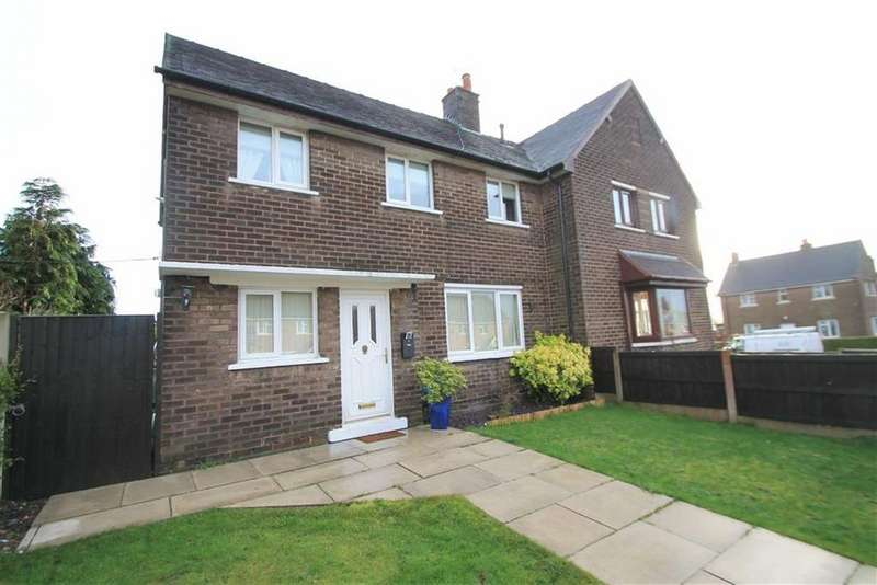 3 Bedrooms Semi Detached House for sale in Bryn Hedd, Southsea, Wrexham