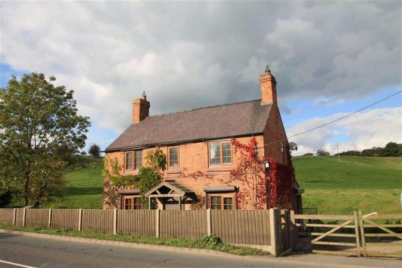 2 Bedrooms Detached House for sale in Croxton, Hanmer, Whitchurch