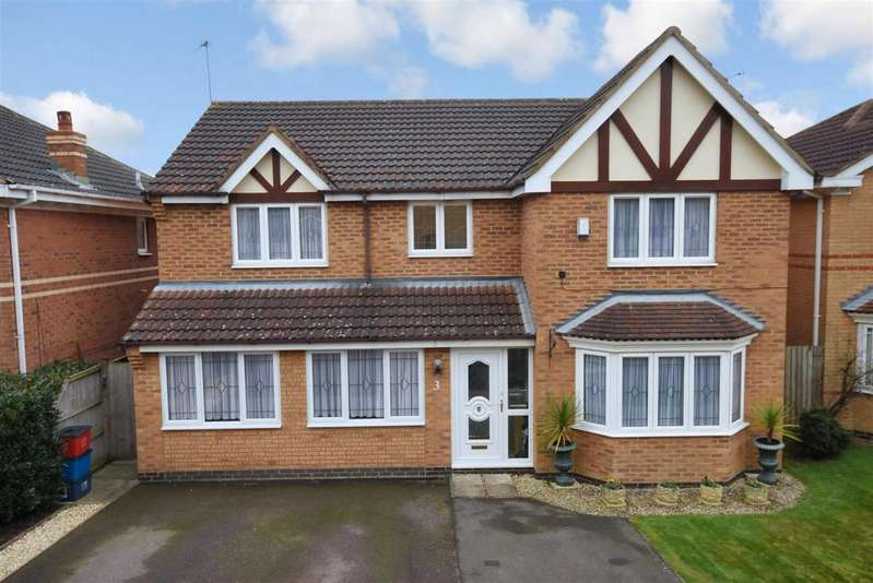 4 Bedrooms Detached House for sale in Davies Close