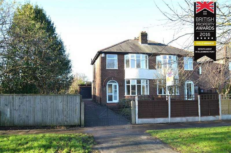 3 Bedrooms Semi Detached House for sale in Rivacre Road, Ellesmere Port