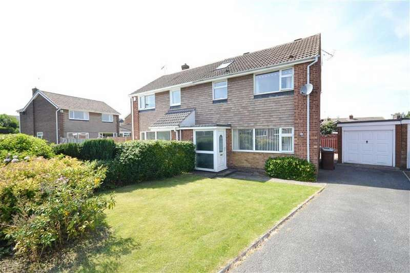 4 Bedrooms Semi Detached House for sale in Long Meadows, Garforth, Leeds, LS25