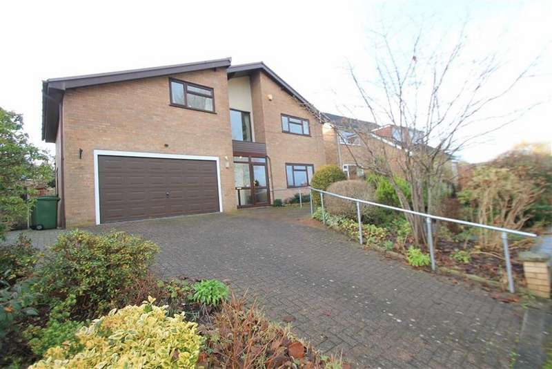 4 Bedrooms Detached House for sale in Ffordd Tudno, Wrexham