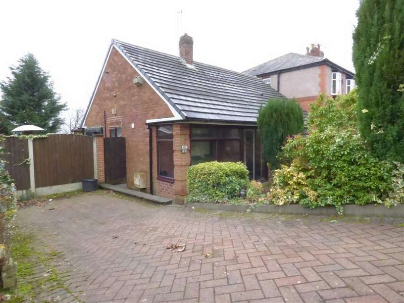 2 Bedrooms Detached Bungalow for sale in Thorncliffe Avenue, Royton, Oldham, OL2