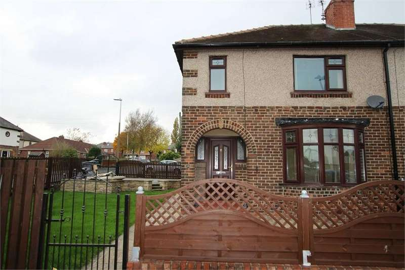 3 Bedrooms Semi Detached House for sale in Ghyllroyd Avenue, Birkenshaw